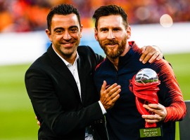 Barcelona striker Lionel Messi has won his fifth European Golden Shoe after his team beat Real Sociedad 1-0 in its final La Liga Santander match of the season. The Argentine player won the award with 34 goals, for a total of 68 points during the 2017-2018 season, Efe news reported on Sunday. Messi also won the award last year, as well as in 2010, 2012 and 2013, and is the only player to do so five times. It is worth noting that the award is given based on a points system, in which goals by the German, Spanish, English, Italian and French leagues account for two points each, while scores by Austria, Belgium, Czech Republic, Croatia, Scotland, Greece, Netherlands, Israel, Norway, Poland, Portugal, Russia, Serbia, Switzerland, Turkey and Ukraine are worth 1.5 points.
