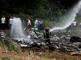 A Boeing 737 plane, believed to be carrying 104 passengers, crashed on Friday shortly after taking off from Havana's main airport, media reports said.	 President Miguel Diaz-Canel said many are feared dead. The plane came down shortly after take-off and exploded on the
