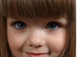 This doll-like girl from Russia is the most beautiful girl in the world.
