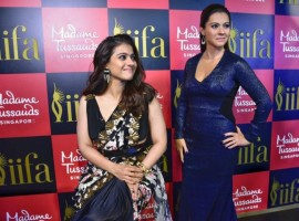 Bollywood actress Kajol walked on the red carpet with her daughter Nysa for the first time to unveil her wax statue at Madame Tussauds.