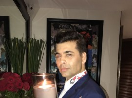 In New York for his 46th birthday on Friday, filmmaker Karan Johar ensured his style quotient was up to the mark as he decked up in a black and white jacket for a terrace party he hosted for some friends. Back home, his brigade of Bollywood friends wished him love, joy and happiness. Karan made his directorial debut with
