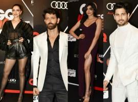 Deepika Padukone, Hrithik Roshan, Sidharth Malhotra, Preity Zinta, Adah Sharma at GQ Best Dressed Awards 2018.