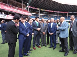 India have won the toss and opted to bat first in the historic one-off Test match against Afghanistan at the M. Chinnaswamy Stadium here on Thursday. After winning the toss, stand-in skipper Ajinkya Rahane said that it is a historic moment for Afghanistan and that he is really excited for the match.