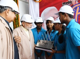 Prime Minister Narendra Modi on Thursday inaugurated the modernised extension of Chhattisgarh's Bhilai Steel Plant. The Prime Minister held a roadshow in Bhilai prior to his visit to the Steel Plant, while he also inaugurated the Integrated Command and Control Centre in Naya Raipur. According to an official release,