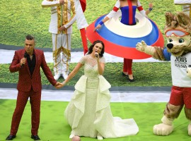 Russian President Vladimir Putin declared the FIFA World Cup open after a colourful opening ceremony at the 81,000-seater Luzhniki Stadium here on Thursday. Artistic performances from UK singer Robbie Williams and Russian operatic soprano Aida Garifullina were the highlights of the opening ceremony. Two-time FIFA World Cup champion Ronaldo of Brazil and Sweden legend Zlatan Ibrahimovic also attended. Former Spain captain Iker Casillas brought the trophy inside the ground.