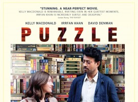 Irrfan Khan will soon be seen in Marc Turtletaub's Puzzle, alongside Scottish actress Kelly Macdonald. The film, which is slated for release on 13th July, 2018, recently had its first trailer released and have now released the Official Poster of the film. The film is a beautiful relationship between two people who are connected by one important piece that sets in motion a true change. Puzzle screened at Sundance to a housefull show and was bought instantly by Sony Pictures for a worldwide release. After Inferno, Irrfan Khan will be back again in this endearing new role which is a must watch.