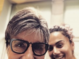Taapsee Pannu and Amitabh Bachcha who first collaborated in 2016 epic courtroom drama, Pink are now back together as they have begun the shoot for Sujoy Ghosh's murder mystery Badla in the Scottish lowlands. The co-actors took an adorable selfie where Sr. Bachchan and Taapsee's radiating smileswere prominent in the pic. This will be their second collaboration together and with a pic as good as this, we cannot wait to see how good the film looks. In the meanwhile, the actress will also be seen in the upcoming Hockey biopic, Soorma with Diljit Dosanjh and Angad Bedi which is releasing on 13th July 2018.