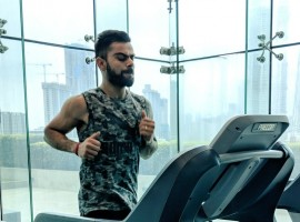 India captain Virat Kohli posted pics with the caption: