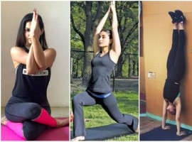 Yoga is not just for the body, it is for the mind as well and Bollywood actors have sworn by yoga forever because it makes them fit but lets them stay calm, composed and peaceful as well. This world yoga day, 21st June 2018, we wanted to discuss a few B'town celebs who don't just do yoga but promote it and believe in it whole heartedly. Here are 5 actresses who remind you that doing the 'downward dog' is great for you.