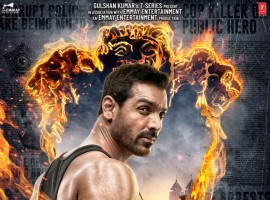 The makers have dropped the first look poster of 'Satyameva Jayate' featuring John Abraham and, to say the least, he looks ruggedly handsome on it. Shared by Abraham himself on Twitter, the poster has a patriotic theme to it. While sharing the look, he wrote,