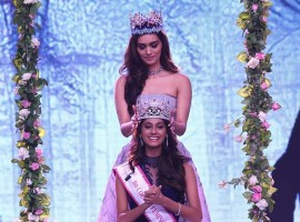 Femina Miss India 2018 has finally got its three new faces, with the glamorous finale last night. Anukreethy Vas, who was earlier crowned fbb Colors Femina Miss India Tamil Nadu 2018, bagged the top honour at fbb Colors Femina Miss India 2018 in Mumbai. The first runner-up is Meenakshi Chaudhary from Haryana and the second runner-up is Shreya Rao Kamavarapu from Andhra Pradesh. Hosted by Karan Johar and Ayushmann Khurrana, the evening also witnessed power-packed performances by Bollywood divas Madhuri Dixit, Kareena Kapoor Khan and Jacqueline Fernandez.