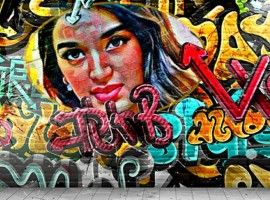 The fan artist painted a wall with the actress' image giving showcasing his love for Nidhhi. The artist spent a huge amount of time getting every detail right to paint a dreamy artwork. Sharing his artwork, the fan said,