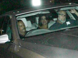 Bollywood star Priyanka Chopra arrived here early on Friday with American singer-songwriter Nick Jonas, amid speculation that they are more than just friends. Priyanka, 35, tried evading the paparazzi at the airport with a black curtain in the backseat maintaining privacy for the passengers. While the cameras could only capture slight glimpses of the two, they were seen later while emerging out of a car.
