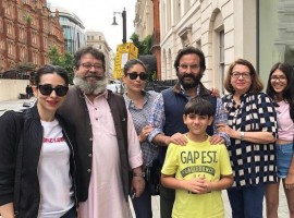 Bollywood couple Saif Ali Khan and Kareena Kapoor Khan enjoyed thier vacation in London, and say they love going to the city.