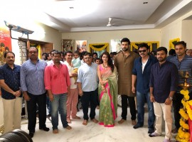 Telugu movie Fun & Frustrated (F2) movie officially launched today morning (July 23) in Hyderabad. Celebs like Victory Venkatesh, Varun Tej, Mehreen Pirzada, Anil Ravipudi, Allu Aravind, Suresh Babu others graced the event. F2 will be a hilarious entertainer movie, actress Tamannaah will be romancing Venkatesh and Mehreen Pirzada will be paired opposite Varun Tej in the movie. The film's soundtrack album and background score will be composed by Devi Sri Prasad. The first schedule of the film will kick-start from July 5th and longs for 16 Days till July 21st.