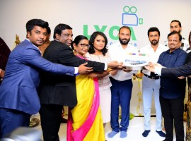 Suriya 37 officially launched with a simple pooja today in London. After Ayan and Maattraan actor Suriya collaborates with cinematographer-turned-director KV Anand fot the third time. The movie is produced under the Lyca Productions banner. Malayalam superstar Mohanlal plays a vital role in the film, while Bollywood actor Boman Irani is all set to make his Tamil debut. The film's soundtrack album and background score will be composed by Harris Jeyraj, while Cinematographer will be handled by Abhinabdan Ramanujam. As per the sources Suriya 37 will be released in Tamil, Telugu, Malayalam and Hindi.