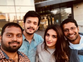 Actress Nidhhi Agerwal opens up about working on her Telugu debut 'Savyasachi' along with Akkineni brothers, Naga Chaitanya and Akhil Akkineni. Making a mark with her debut film along with Tiger Shroff, Nidhhi Agerwal has built a fanbase for herself in a very short time. Currently shooting for her upcoming Telugu venture, Niddhi Agerwal treats her fans and followers with insights into the film's shoot by posting pictures from the sets. Sharing yet another picture from the sets, Niddhi Agerwal opened up about her experience working on the film. The actress shared,