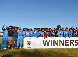Powered by half centuries from Lokesh Rahul and Suresh Raina and a collective bowling effort, India registered their biggest T20I win after convincingly thrashing minnows Ireland by 143 runs in the second and final T20 International, to pocket the two-match series 2-0 here on Friday. India's spin twins Yuzvendra Chahal (3/21) and Kuldeep Yadav (3/16) once again starred with the ball as the Irish batsmen continued to be at sea, before eventually crumbling to their second lowest T20I total. Chasing a mammoth 214, mainly built around half tons from Rahul (70 off 36 balls) and Raina (69 off 45) and a late order cameo from Hardik Pandya (32 not out off 9), Ireland could never recover from the early wickets as the Indian bowlers put on a collective effort to bundle them out for a meagre 70 in just 12.3 overs.