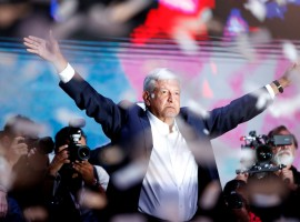 Left-wing candidate Andres Manuel Lopez Obrador of the National Regeneration Movement has won the presidential elections in Mexico, according to the country's electoral body. Lopez Obrador called it a