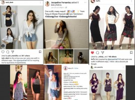 Jacqueline Fernandez who recently experimented with multiple variations out of a single outfit at the Dabangg Tour has inspired many teenage girls off late. The Race 3 actress opted for a single outfit by Falguni Shane Peacock and experimented it with multiple variations for all her performance.  Sharing the pictures of all the outfits, Jacqueline took to her social media saying,