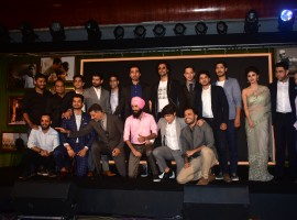 The makers of 'Gold' organized a royal musical extravaganza in Mumbai to celebrate the music of the film. The event was graced by the entire cast and crew of Excel Entertainment's Gold, making the musical occasion a grand celebration. Director Reema Kagti along with Akshay Kumar, Mouni Roy, Kunal Kapoor, Amit Sadh, Sunny Kaushal, and singers Sachin-Jigar and Arko graced the event. Musicians Arko and Sachin-Jigar performed live for the audience, while the cast and crew rejoiced the celebration.