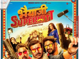 The first look poster of Sunny Deol's action-comedy flick, 'Bhaiyyaji Superhitt' is finally out. The actor will be seen donning the look of a gangster in the film. Taking to his Twitter, Deol unveiled the poster, writing,