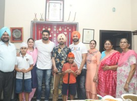 Indian Hockey Legend Sandeep Singh is extremely excited to showcase his biopic Soorma starring Diljit Dosanjh to his family.  As the sports drama is inching closer to its release, Sandeep Singh expressed his excitement to show his life story to his family. The hockey legend feels that 'Soorma' is actually a story of their struggles. From emerging as one of the best hockey players to rising back after being shot, Sandeep Singh's life story depicts struggles at every turn of his life. There was a point where the family lost everything and had to even sell their house and stay with their uncle. Talking about showcasing the film to his family, Sandeep Singh shares,