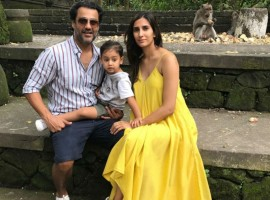 Director Abhishek Kapoor and producer wife Pragya Kapoor took time off after wrapping Kedarnath's shooting Schedule. Sushant Singh Rajput and Sara Ali Khan starrer Kedarnath is an eternal love story set in the backdrop Kedarnath, it is a potent combination of love and religion, passion and spirituality. Abhishek and Pragya who were busy with their next Kedarnath had gone to Bali for their family vacation with their 2 and a half-year-old son Isana. The director has been uploading some amazing images from his vacation with his family.