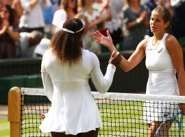 Tennis ace Serena Williams on Thursday entered the Wimbledon final after defeating Germany's Julia Gorges 6-2, 6-4 in the semi-final. Williams is now just one win away from getting the record-breaking 24th grand slam title.