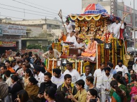 The traditional 141st Rath Yatra of Lord Jagannath will be taken out in Ahmedabad in all festive colour and religious fervor on Saturday amid massive security cover with the first time use of Israeli helium balloons fitted with high resolution cameras. Here are some Best quotes, WhatsApp, SMS, Text Messages, Greetings and Wishes to share: 1) May The Almighty Jagannath, Lavish His Pleasant And Beneficial Blessings, On You, Your Loved Ones, And All You Love Intensely, May The Felicity And Harmonious Relations, Surround You With His Endless, Love And Physical Intensity. Happy Rath Yatra.
