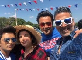 Choreographer-filmmaker Farah Khan says she shot a