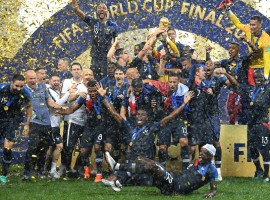 Putting an end to its 20-year-long wait, France on Sunday won its second FIFA World Cup title after defeating Croatia 4-2 in a high-octane final at the Luzhniki Stadium here. In a tournament filled with dramatic ups and downs, France stood tall in the end, keeping cool at all times despite not being in its sublime form in the group stage. France took a lead in the 18th minute after Mario Mandzukic scored an own goal while heading away a free kick from Antoine Griezmann. However, Ivan Perisic's super strike soon found an equaliser for Croatia, after he received a super pass from centre back Domagoj Vida.