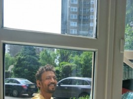The 'Hindi Medium' star, who is undergoing treatment for a neuroendocrine tumour, a rare form of cancer, updated the display picture of his Twitter account. He can be seen in a yellow T-shirt standing next to a glass door with earphones around his neck and is all smiles. Khan left fans, friends, and colleagues in shock by opening up about his illness in March this year. The National Award-winning actor tweeted about his illness, writing,
