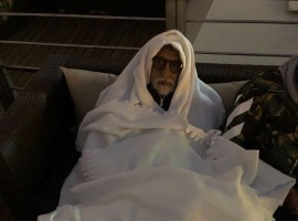 Megastar Amitabh Bachchan's latest Instagram post will surely wipe away your Monday blues! In the picture, the 'PINK' star looks adorable as he can be seen beating the cold by wrapping himself in layers of blankets. He captioned the picture as,