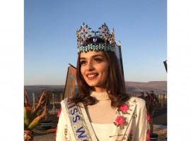 Manushi Chhillar in South Africa
