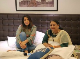 Richa Chadda meets Shakila over biopic