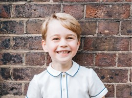 Kensington Palace releases birthday photo of Prince George