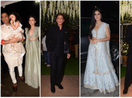 B-Town stars suit up for Poorna Patel's reception