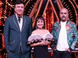 Anu Malik, Neha Kakkar & Vishal Dadlani for the premier episode of Indian Idol 10