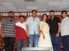 Saakshyam success meet