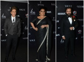 Shah Rukh Khan, Vidya Balan and Saif Ali Khan at Vogue Beauty Awards 2018