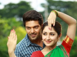 Arya and Sayyeshaa Saigal's Ghajinikanth movie stills