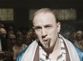 Tom Hardy looks unrecognizable as Al Capone