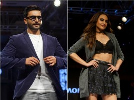 Ranveer Singh, Sonakshi Sinha sizzle on the ramp at AW'18 collection