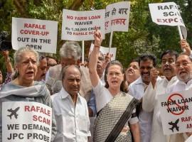 Rajya Sabha adjourned over Rafale row