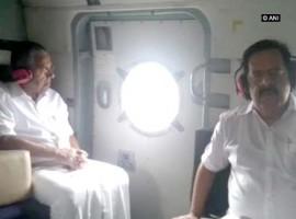 CM Pinarayi Vijayan conducts aerial survey