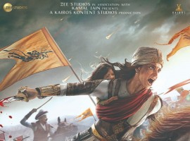 Kangana Ranaut looks fierce as Rani Laxmi Bai