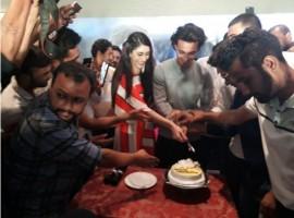 Aayush Sharma and Warina Hussain