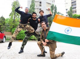 Ahead of the movie release, Team Paltan celebrates the spirit of patriotism on Independence Day