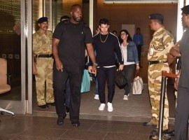 Nick Jonas, Parents arrive in India to meet Priyanka Chopra's family